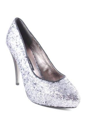 Victoria delef High Heels schwarz-blasslila Elegant