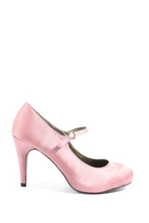 Victoria delef Décolleté accollato rosa stile casual