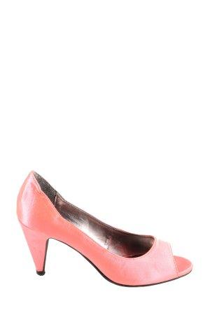 Victoria delef Peeptoe Pumps pink Casual-Look