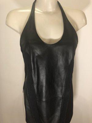 Victoria's Secret Podkoszulek na ramiączkach czarny