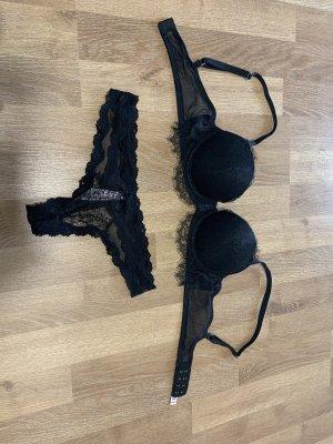 Victoria's Secret Set lingerie nero