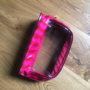 Victoria's Secret Borsa da viaggio rosa-nero