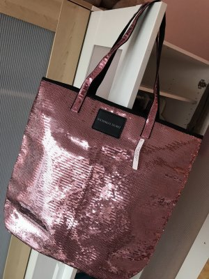 Victoria's Secret Bolso de compra rosa neón
