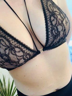Victoria's Secret BH Spitze schwarz NEU XL 42/44
