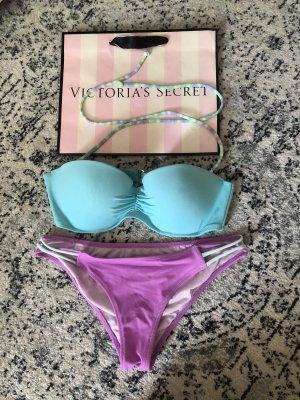 Victoria's Secret Bikini turquesa-lila