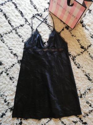 Victoria's Secret Camicia da notte nero Poliestere