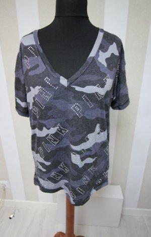 Victoria´s Secret Camouflage T-Shirt Strass Nieten Top gr L