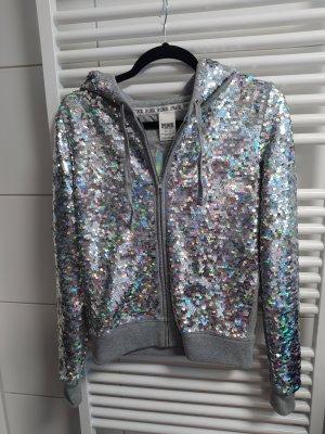 Victoria's Secret Giacca con cappuccio argento-grigio chiaro