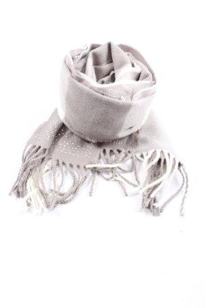 Victoria's Secret Sciarpa con frange bianco sporco-grigio chiaro modello web
