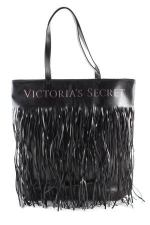 Victoria's Secret Sac à franges noir style décontracté