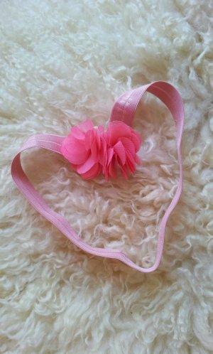 Victoria´s Secret Haarband mit Applikation, Lachs / Rosa, Blume / Chiffon, NEU