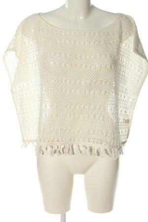 Victoria's Secret Crochet Shirt natural white casual look