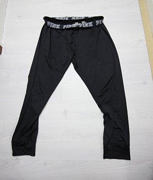 Victoria's Secret Pantalone da ginnastica nero-bianco