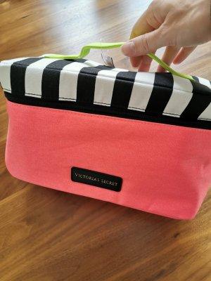 Victoria's Secret Bolso de viaje rosa neón-verde neón