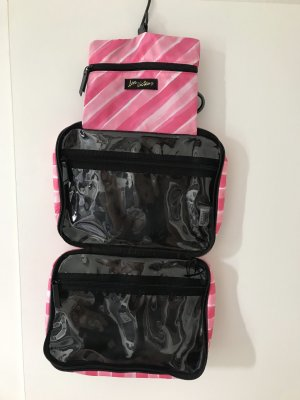 Victoria's Secret Trousse à maquillage magenta-blanc