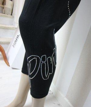 Victoria's Secret Leggings black-silver-colored