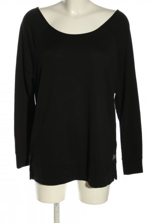 Victoria's Secret Longsleeve schwarz Casual-Look