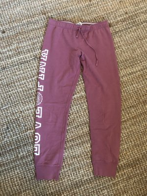 Pink Victoria's Secret Sweat Pants pink-white