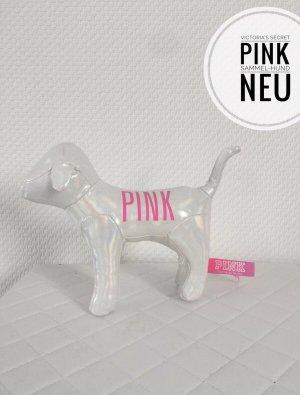 Victoria's secret pink sammle Hunde weiß rosa irisierend New York blogger vintage
