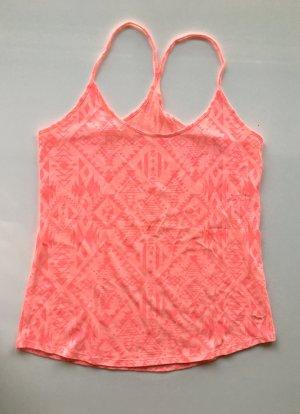 Pink Victoria's Secret Top de tirantes finos multicolor Algodón