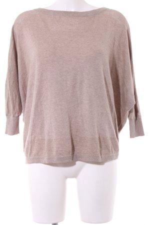 Victoria's Secret Rippshirt wollweiß meliert Casual-Look