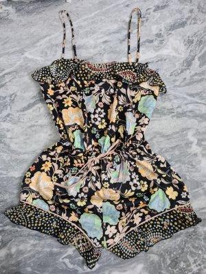 Victoria's Secret Kurzer Jumpsuit noir-doré