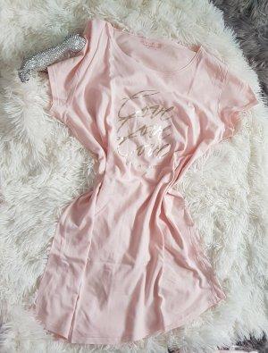 Victoria's Secret Camicia lunga oro-rosa pallido