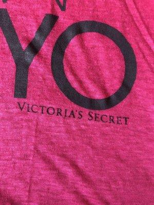 Victoria's Secret Shirt pink schwarz