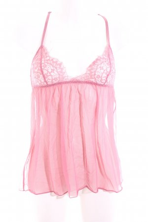 Victoria's Secret Spitzentop pink Casual-Look