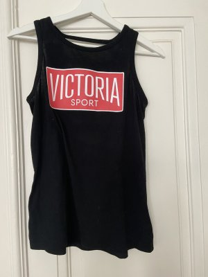 Victoria's Secret Top sportowy czarny