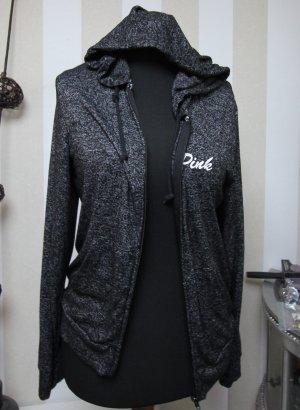 Pink Victoria's Secret Sweat Jacket white-grey