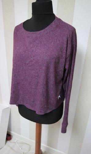 Pink Victoria's Secret Bluza dresowa szaro-liliowy