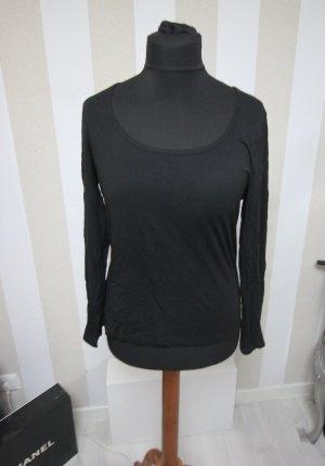 Victoria's Secret Suéter negro-color oro
