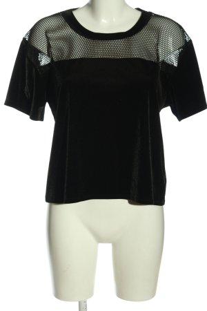 Victoria's Secret T-shirt nero stile casual