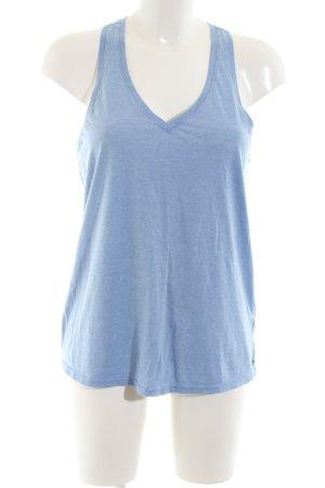 Victoria's Secret Tanktop blau Casual-Look