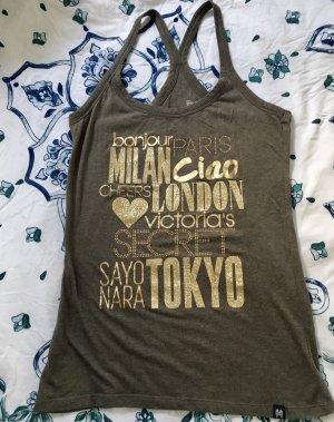 Victoria's Secret Top Shirt Tank olivgrün Gr S