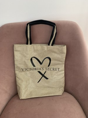 Victoria's Secret Tote Bag, gold, NEU