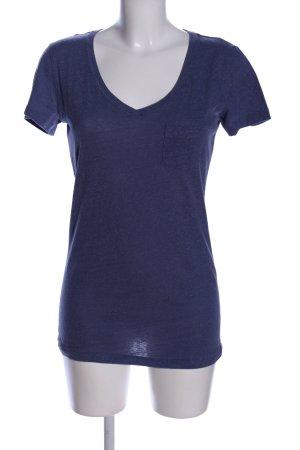 Victoria's Secret V-Ausschnitt-Shirt blau Casual-Look
