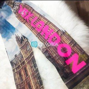 Victoria's Secret VSX Knockout Leggings Tights London Limited Edition M