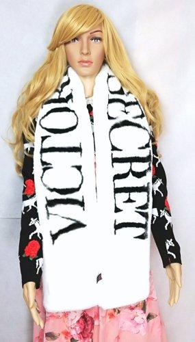 Victoria's Secret Sciarpa di lana bianco-nero