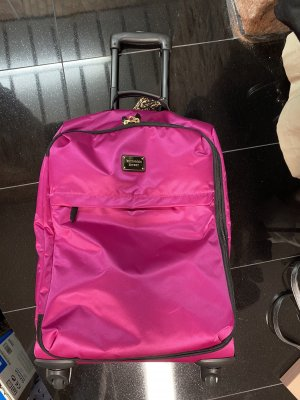 Victoria's Secret Valise Trolley magenta-rose