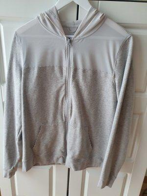 Victoria's Secret Chaqueta deportiva gris claro Licra