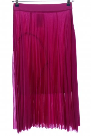 Victoria  Victoria Beckham Pleated Skirt lilac party style