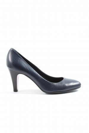 Victoria Wood High-Front Pumps blue business style