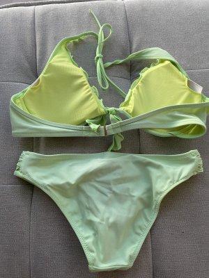 Victoria's Secret Bikini vert fluo