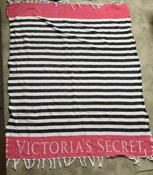 Victoria's Secret Serviette de plage rose-blanc