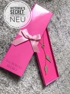 Victorias secret jewelry Schmuck Kette Halskette accessoires neu pink blogger vintage boho angel wings