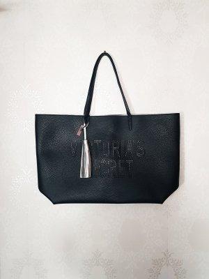 Victorias Secret Laser Cut Tote Shopping Bag Shopper NEU Kunstleder Tasche Limited Edition