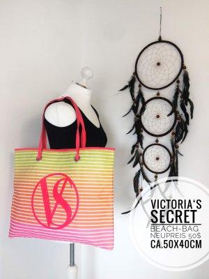 Victorias secret pink tadche Strand Beach accessoires blogger vintage boho bunt
