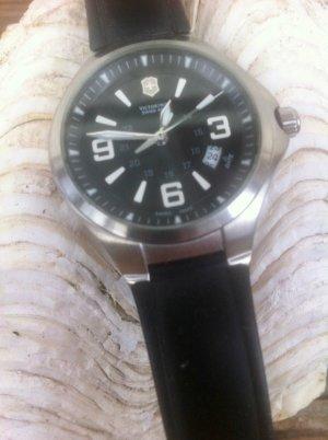 Victorinox Zegarek analogowy czarny-jasnoszary Metal